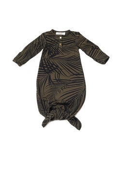 Palm Springs | BABY - Dwell and Slumber house dress gold snaps