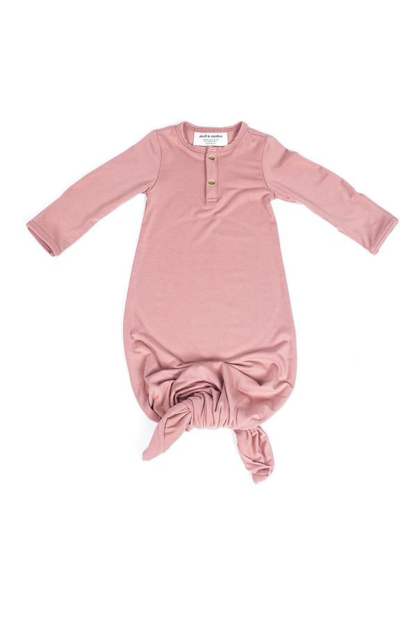 Desert Rose | BABY - Dwell and Slumber house dress gold snaps