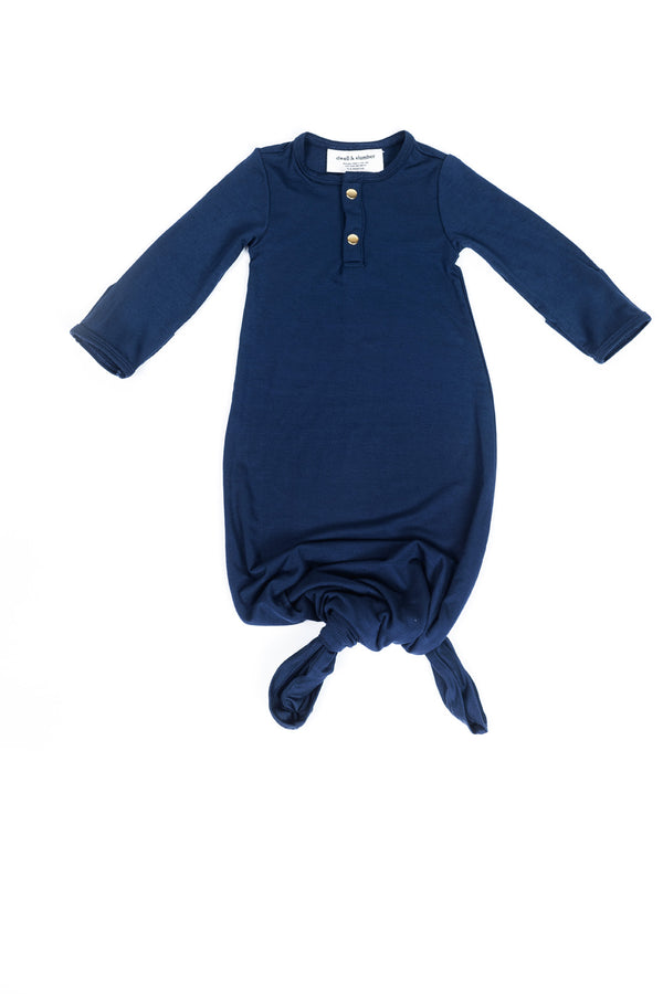 Midnight | BABY - Dwell and Slumber house dress gold snaps