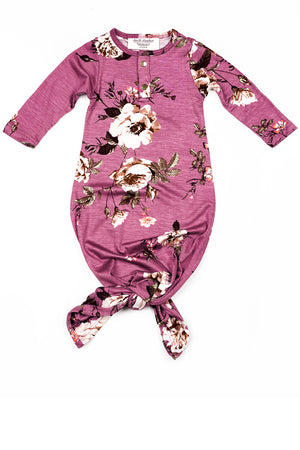 Violet | BABY - Dwell and Slumber house dress gold snaps