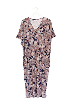 Juno | COCOON - Dwell and Slumber house dress gold snaps