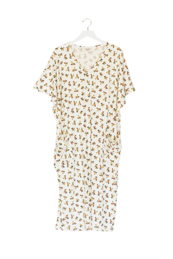 Livia | COCOON - Dwell and Slumber house dress gold snaps