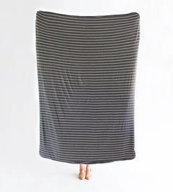 London Stripe | BLANKET - Dwell and Slumber house dress gold snaps