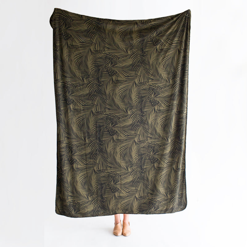 Palm Springs | BLANKET - Dwell and Slumber house dress gold snaps