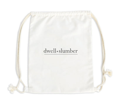 | Natural Drawstring Backpack | - Dwell and Slumber house dress gold snaps