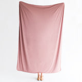 Mauve | BLANKET - Dwell and Slumber house dress gold snaps