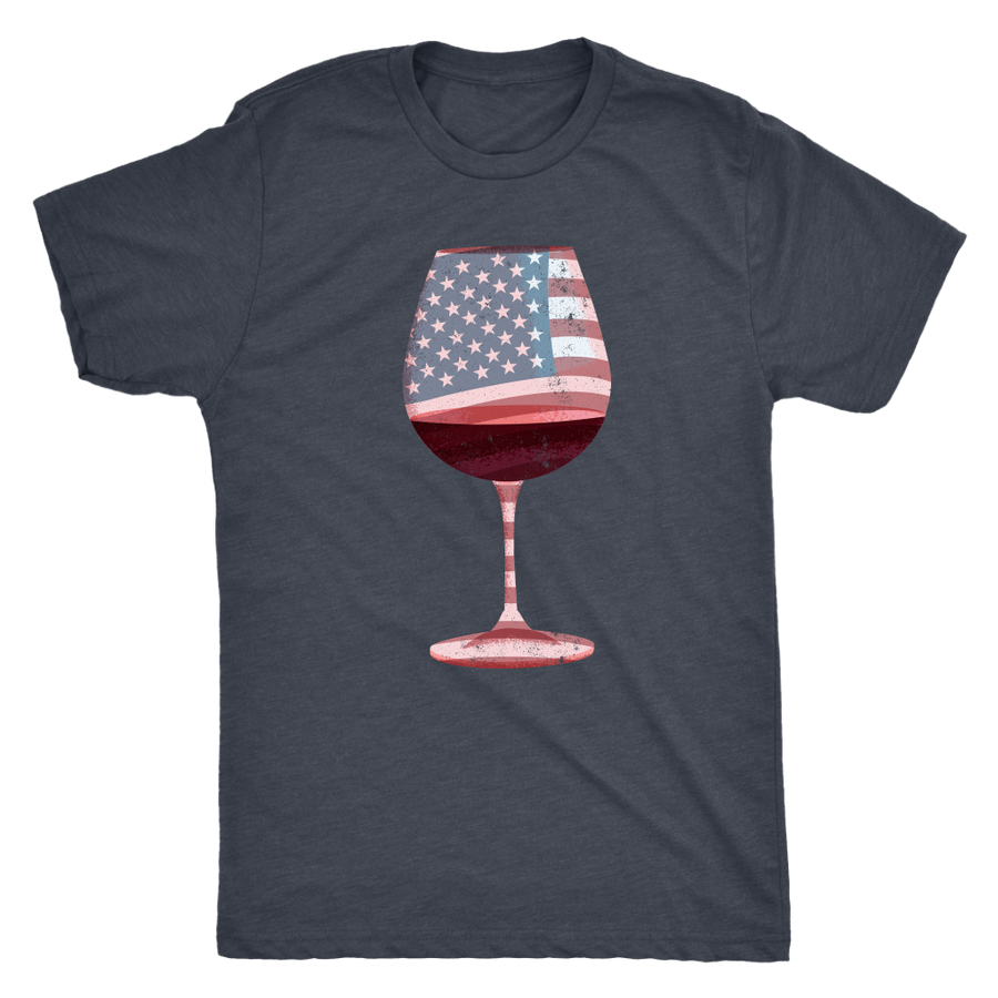 Wine for America - Classic Tee - Lushy Wino