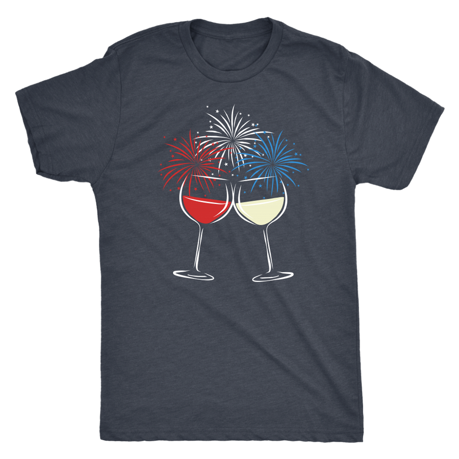 Cheers to Freedom - Classic Tee - Lushy Wino