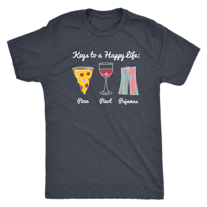 Keys to a Happy Life - Classic Tee - Lushy Wino