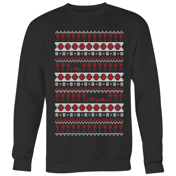 A Wino's Ugly Christmas Sweater - Lushy Wino