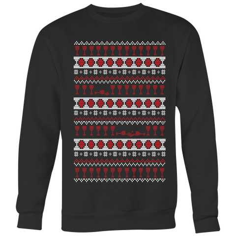 A Wino's Ugly Christmas Sweater
