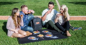 Plush Picnic Wine & Picnic Backpack (2 or 4-Person Set) - Lushy Wino
