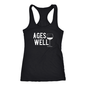 Ages Well - Tank Top - Lushy Wino