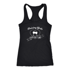 Raising Girls With Love & Wine - Tank Top