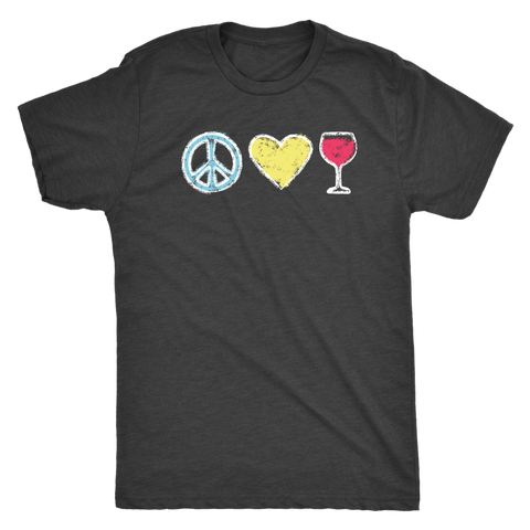 Peace, Love, Wine - Classic Tee