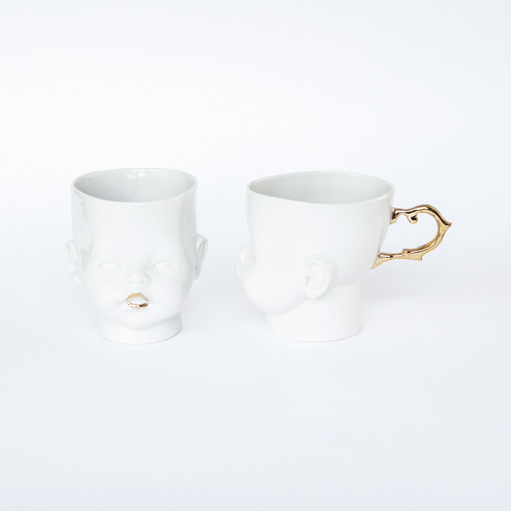 """OH Baby!"" cup/mug golden"