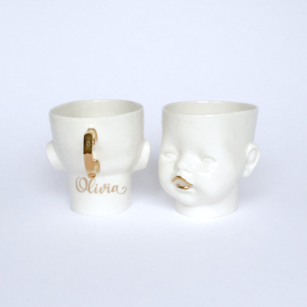 "Copy of ""OH Baby!"" cup/mug with personalisation"