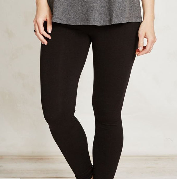 Essential Black Bamboo Legging