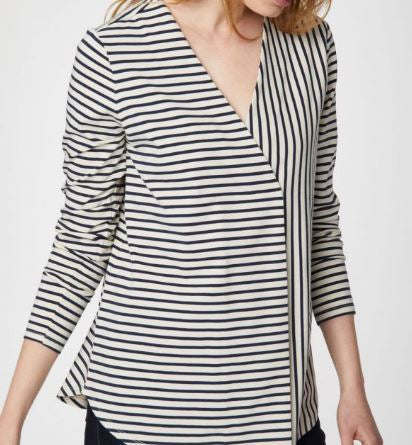 Ronan Organic Cotton Stripe Tee
