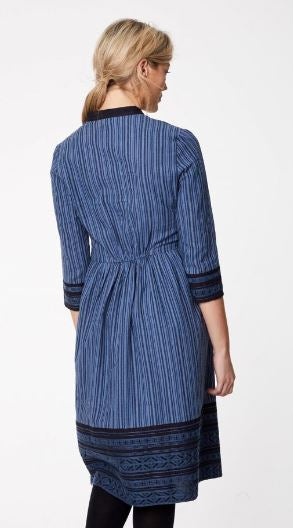 Sasha Hemp Stripe Dress