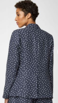 Miriam Hemp Spot Jacket