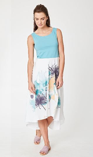 Tahiti Organic Cotton / Tencel Dress