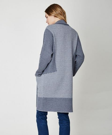 Indigo Antoine Throw