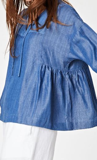 Tencel Chambray Top