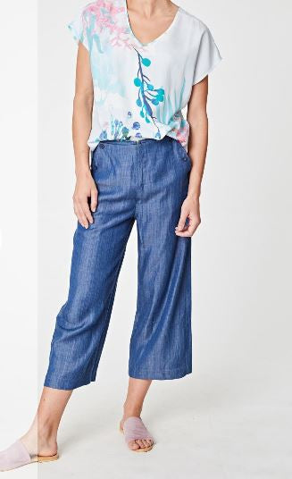 Tencel Chambray Pant