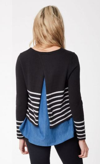 Stripe Layer Knit