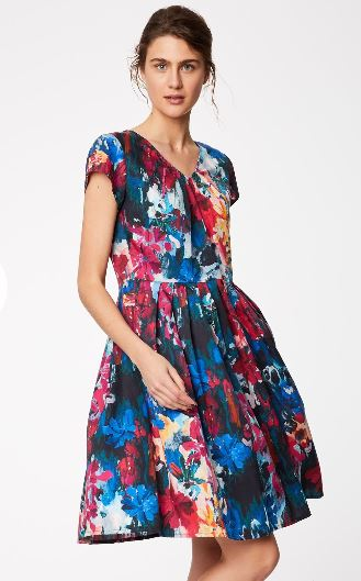 Flower Palette Dress