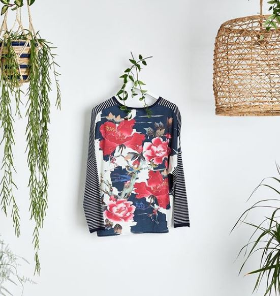 Shonagon Japanese Print Knit