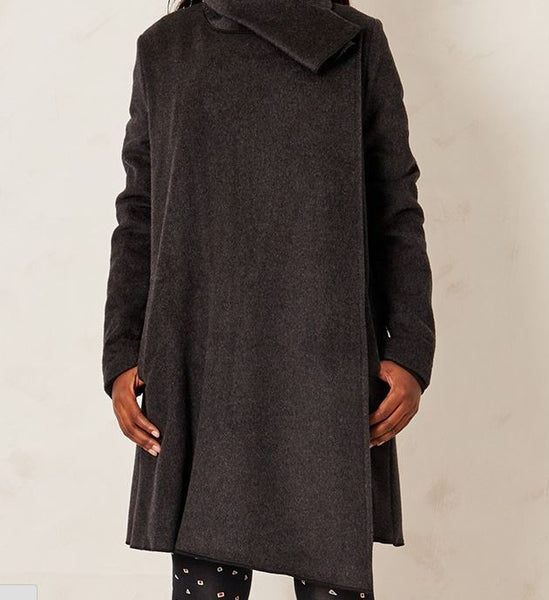 The Karijini 100% Wool Wrap Coat