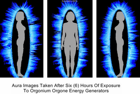 Aura After Six Hours With Orgone Energy