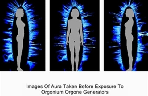 Aura Before Exposure To Orgone Energy Generators