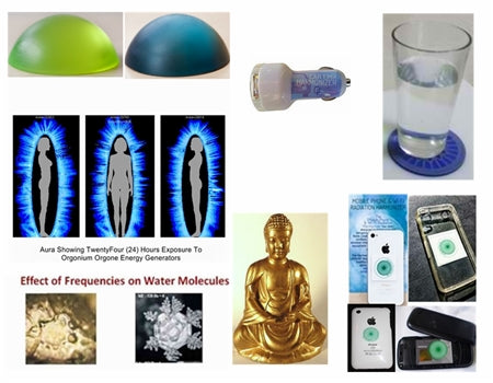 Negative Ion Resonance Is Produced By These Orgone Energy Products