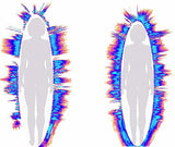Aura Before And After Using Ionic Orgone Energy Healing Wand