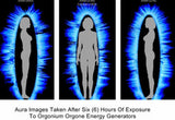 Aura After Only 6 Hours Exposure To Orgone Energy And Schumann Frequencies