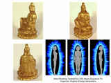 Kwan Yin Schumann Generators Front Side And Back With Aura Imaging