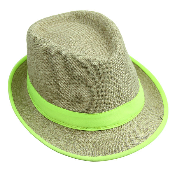 12's Summer Fedora Hat