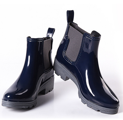 Boots - Navy Rain - Ankle