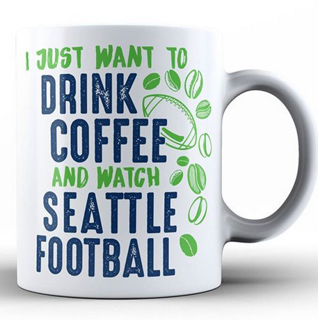 Coffee Mug - Seattle Football