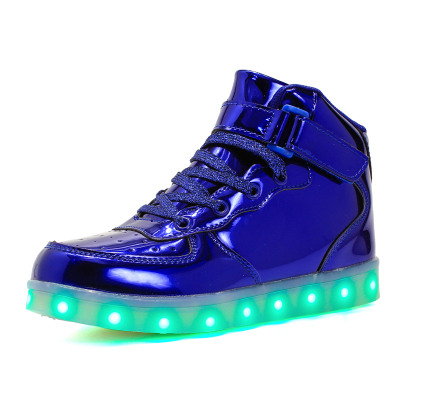 12's Shoes - Light Up High Tops