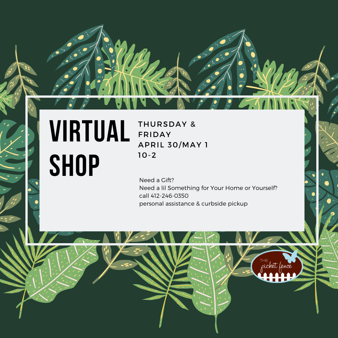 Virtual Shopping Available