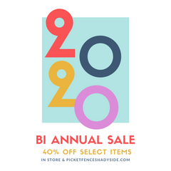 Bi Annual Sale, Take 40% Off Select Styles