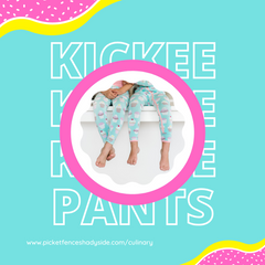 New Culinary Collection from Kickee Pants