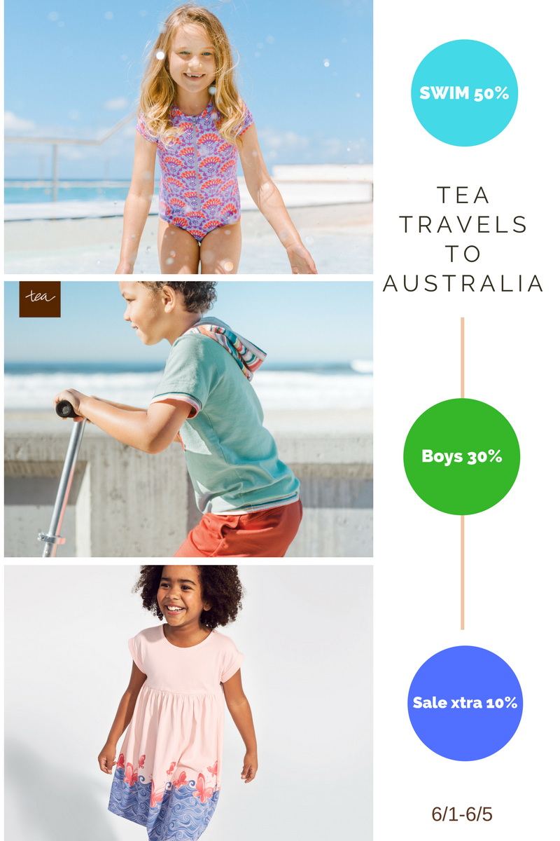 Tea Collection Summer Savings