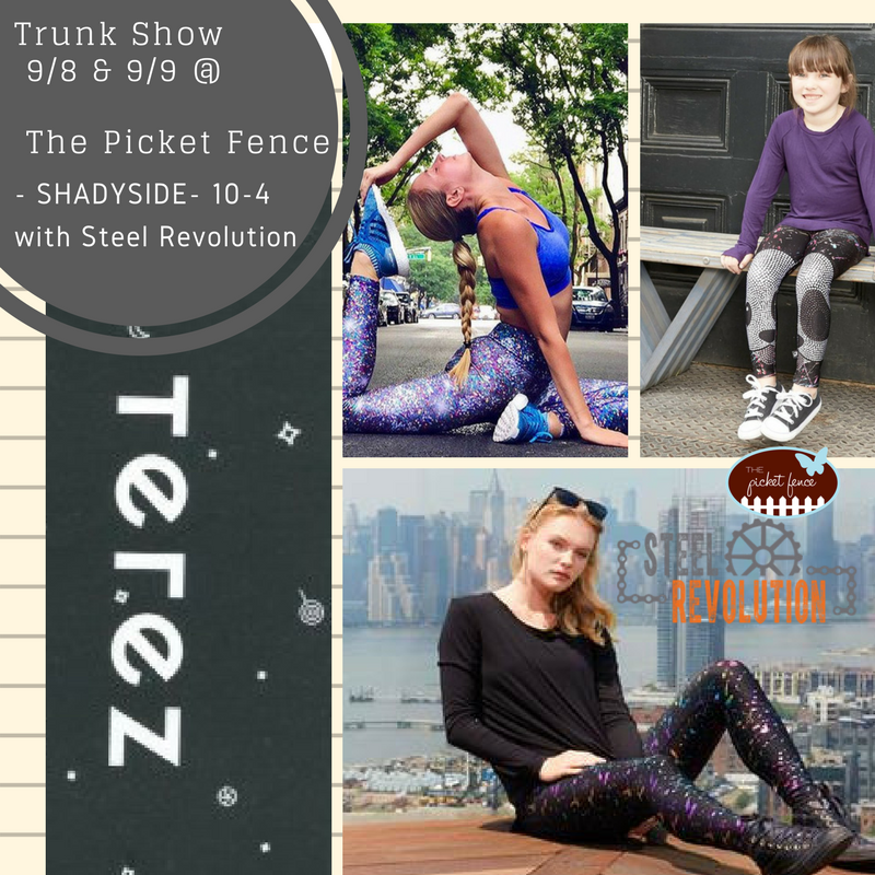 #Terez Trunk Show with Steel Revolution
