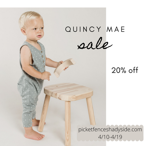 Rylee and Cru and Quincy Too, 20% Flash Sale