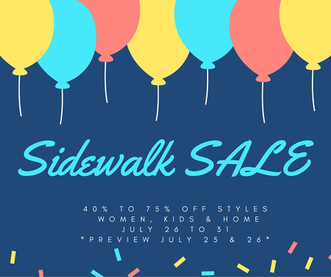 Shadyside Sidewalk SALE